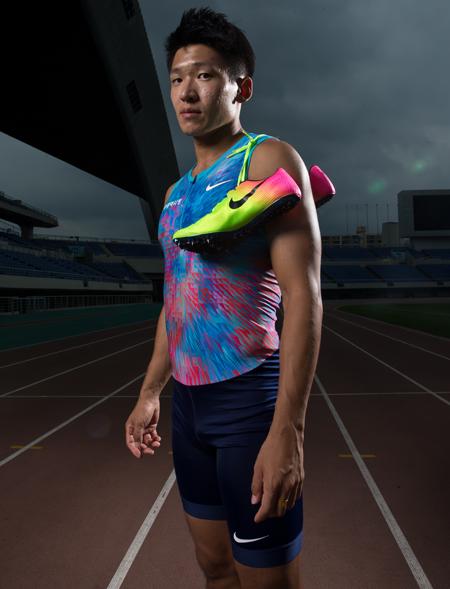 육상선수 김국영